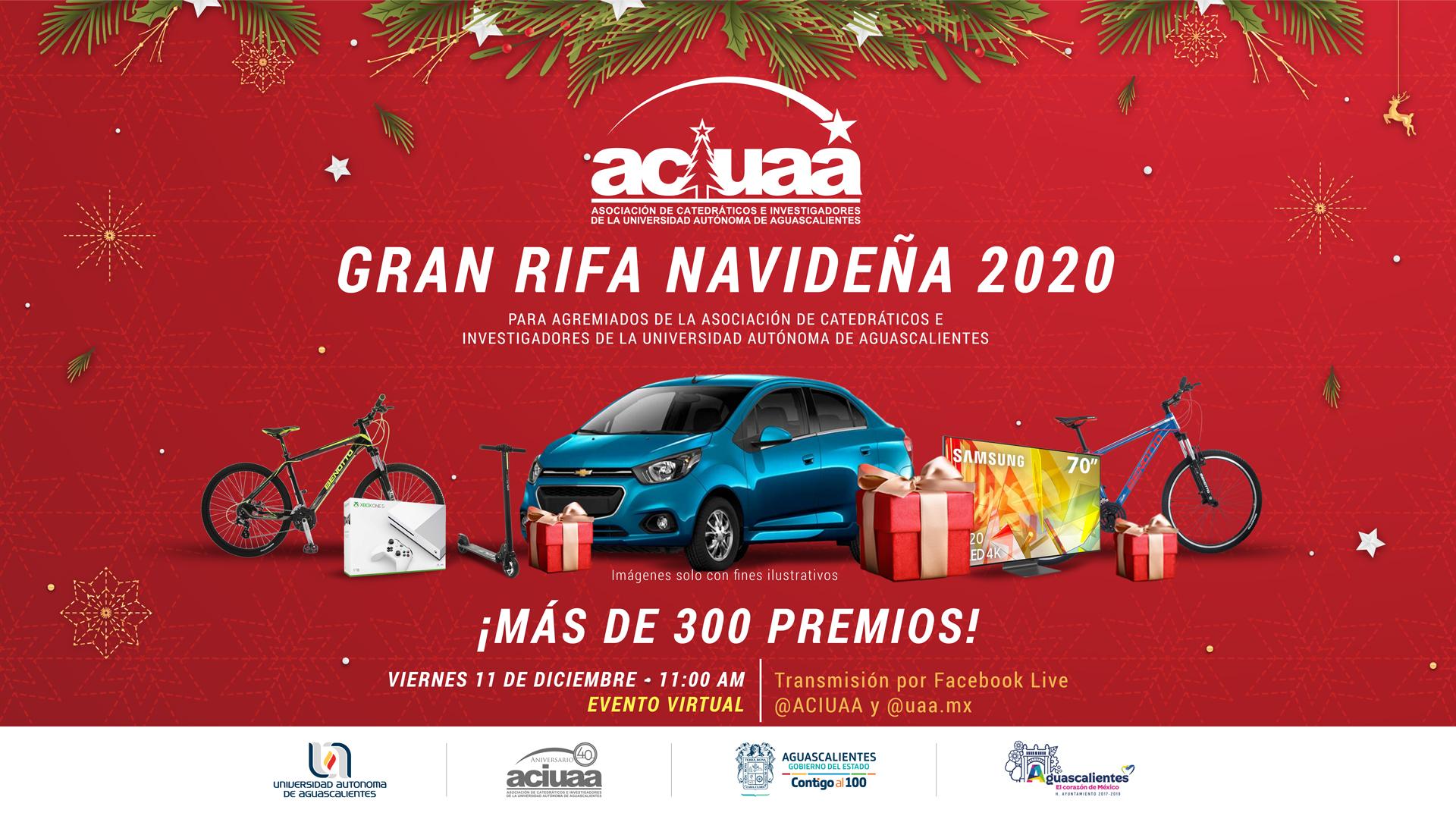 RIFA NAVIDEÑA ACIUAA 2020